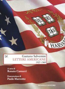 Gaetano Salvemini. Lettere americane