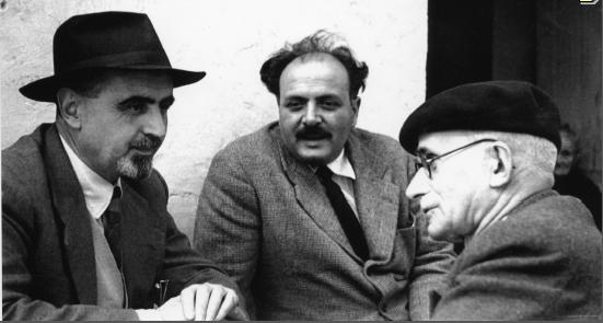 In foto, da sinistra, Rossi, Spinelli, Einaudi